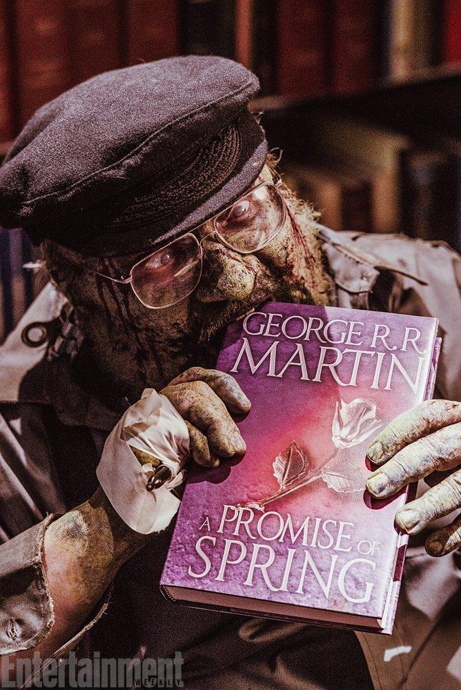 Зомби-Джордж Мартин дописал «Игру престолов» - Изображение 1