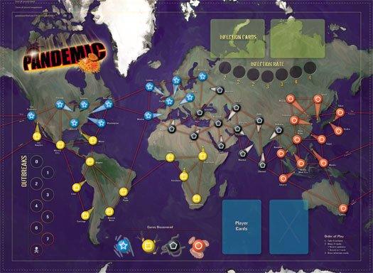 Настолки: Pandemic - антивирусный кооператив - Изображение 1