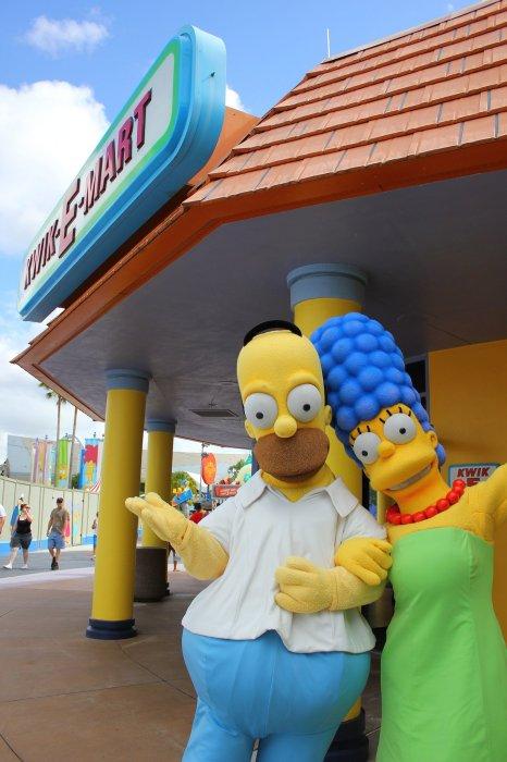 Лучшие фотографии  тематического парка «Симпсонов» - Изображение 1