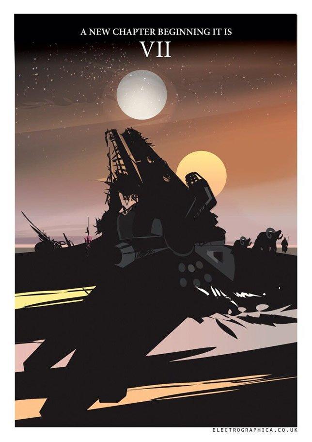 Фанатские постеры Star Wars: Episode VII - Изображение 20