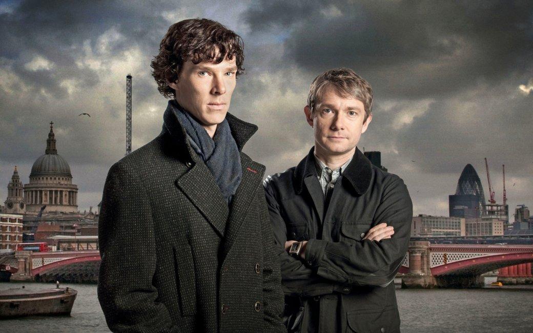 Все серии«Шерлока» кратко в гифках. Освежаем память перед финалом. - Изображение 1