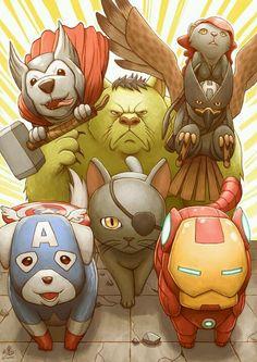 Галерея вариаций: Мстители-женщины, Мстители-дети... - Изображение 105