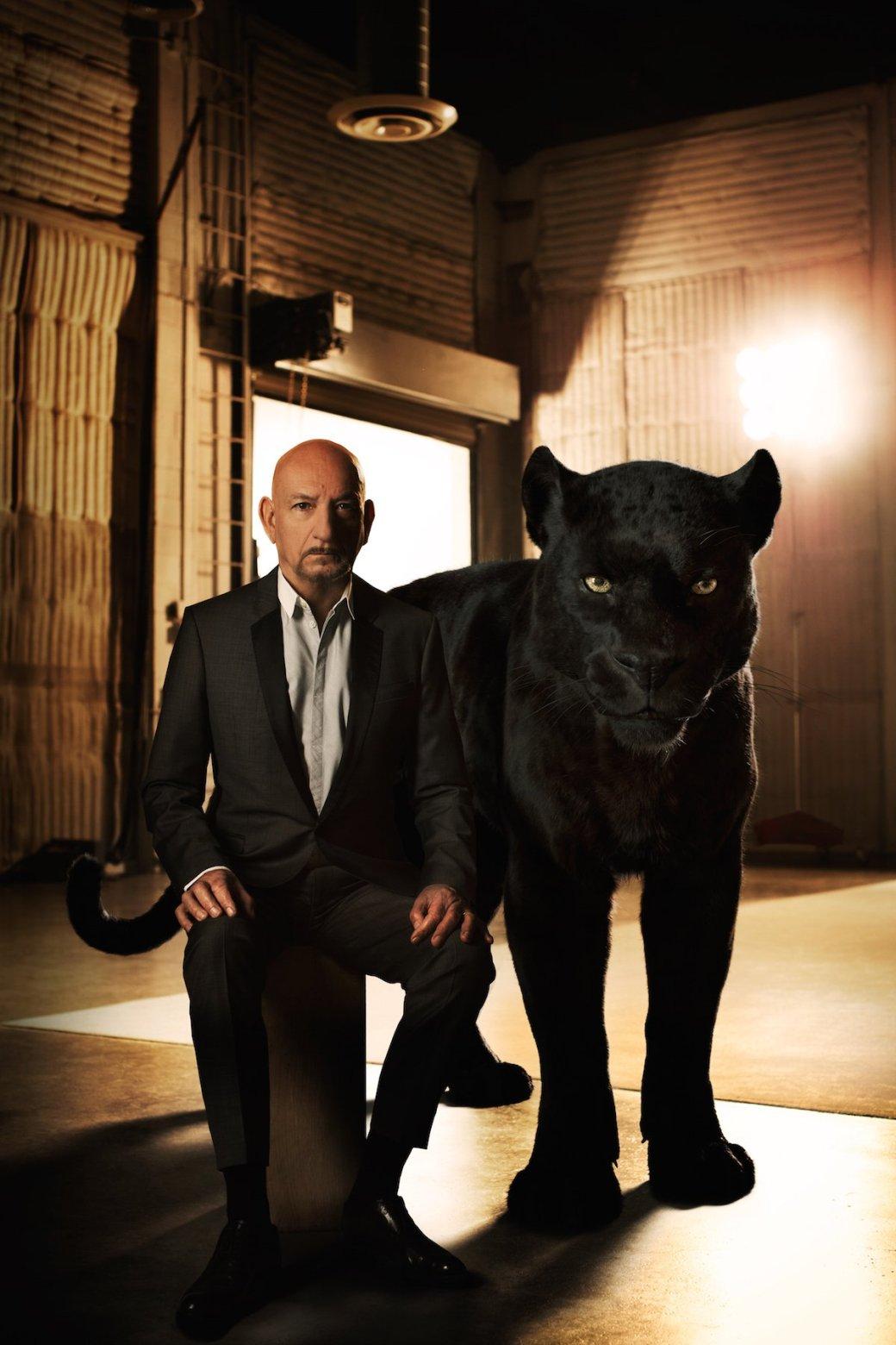 Актеров из «Книги джунглей» сравнили с животными - Изображение 2