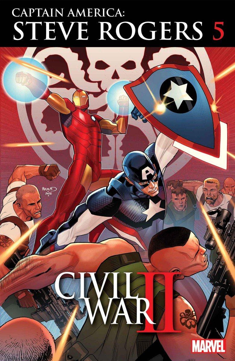 Кэп-нацист подстроил «Вторую Гражданскую Войну» Marvel… Почти! - Изображение 1
