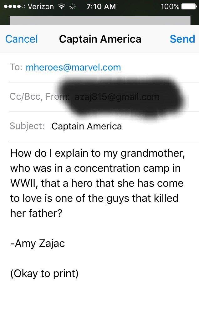 Интернет взбешен тем, что Капитан Америка оказался нацистом. - Изображение 7
