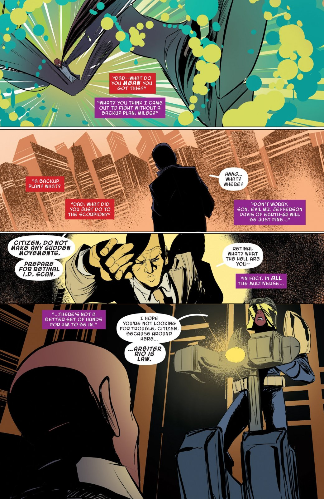 Финал кроссовера Человека-паука Майлза Моралеса и Гвен-паук - Изображение 15