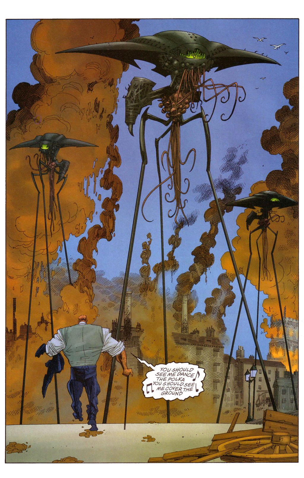 Киноребут LXG — повод перечитать гениальную серию комиксов Алана Мура - Изображение 6