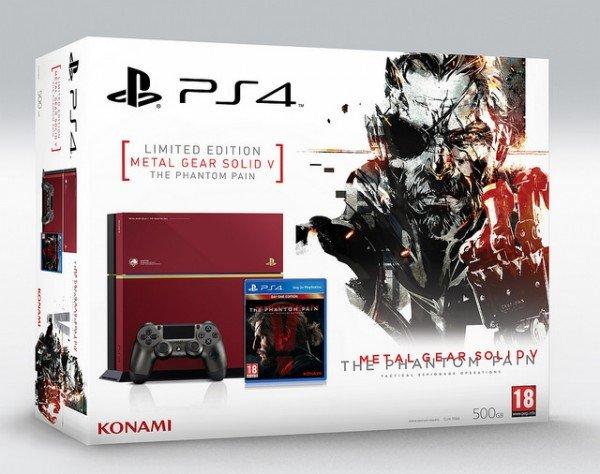 Бандл PS4 с MGS5: The Phantom Pain доберется до России в сентябре - Изображение 1