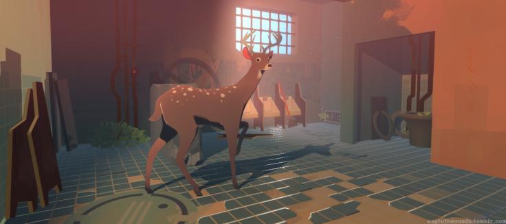 Team 17 издаст игру про оленя Way to the Woods от 16-летнего школьника - Изображение 1