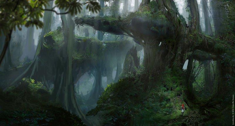 Прекрасные концепты Horizon: Zero Dawn отхудожников «Игры престолов» - Изображение 13
