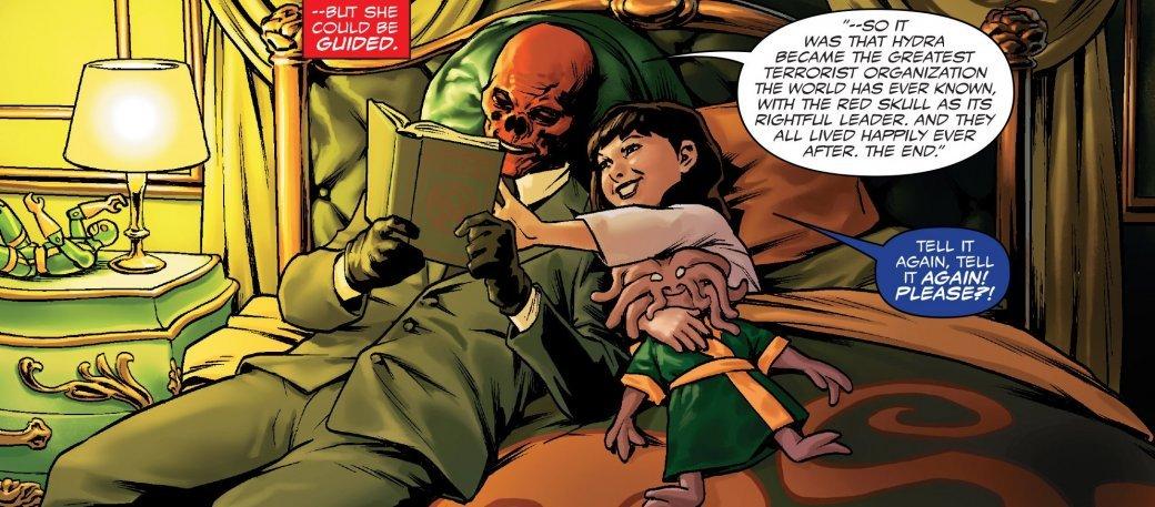 Как Капитан Америка предал все ради власти над Гидрой ивсем миром - Изображение 11
