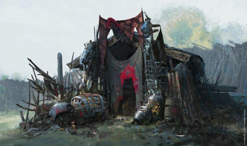 Прекрасные концепты Horizon: Zero Dawn отхудожников «Игры престолов» - Изображение 18