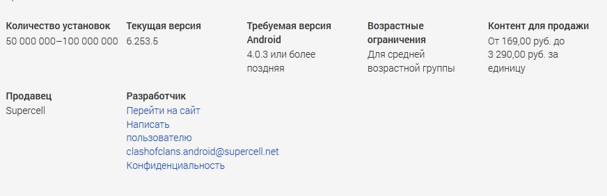 В Google Play стали указывать разброс цен на товары внутри приложений - Изображение 1