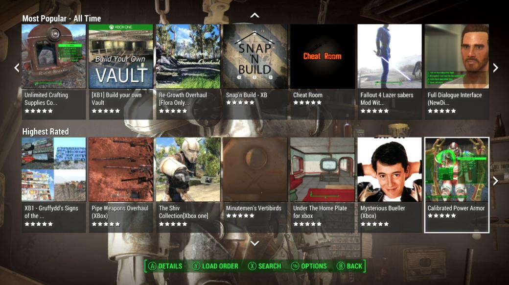 Bethesda отчиталась об успешном запуске модов для Fallout 4 на Xbox - Изображение 1