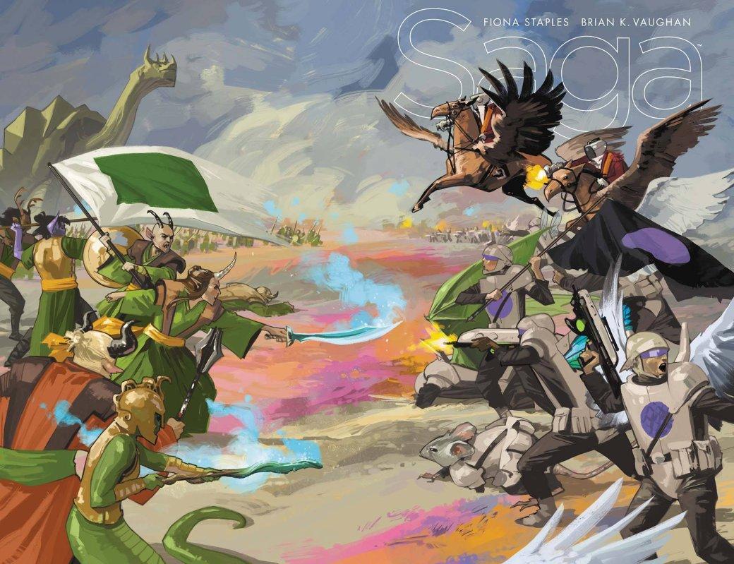 5 комиксов, похожих на«Игру престолов». - Изображение 5