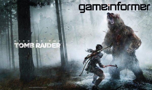 Лара Крофт покоряет Сибирь: обложка Game Informer - Изображение 1