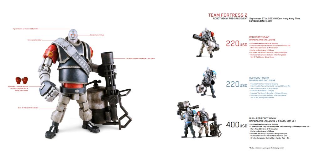 Анонсированы новые фигурки по Team Fortress 2 - Изображение 1