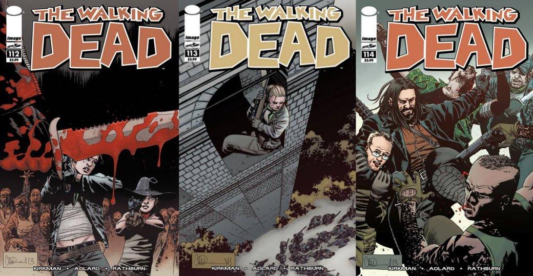 Скачать всех выпуски комиксов ходячих мертвецов
