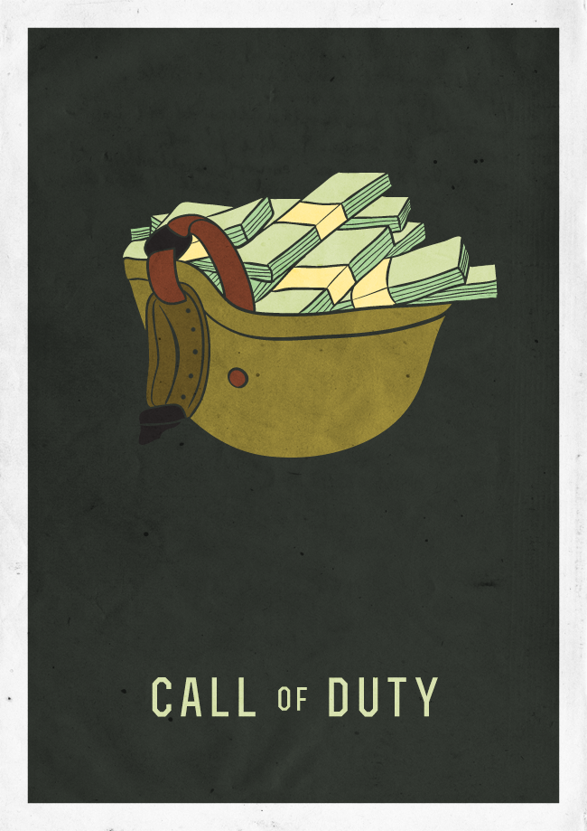 Минимализм: Resident Evil, SimCity, Assasin`s Creed, God of War, Call of Duty, Gears of War  - Изображение 6