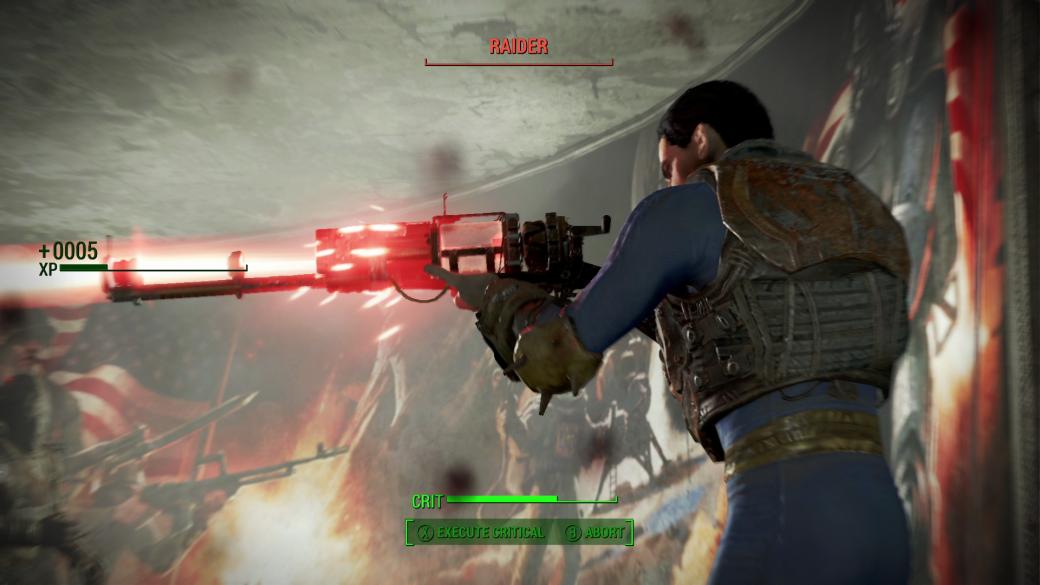 Женщина, собака и пулемет на борту в новом арте и скринах Fallout 4 - Изображение 11