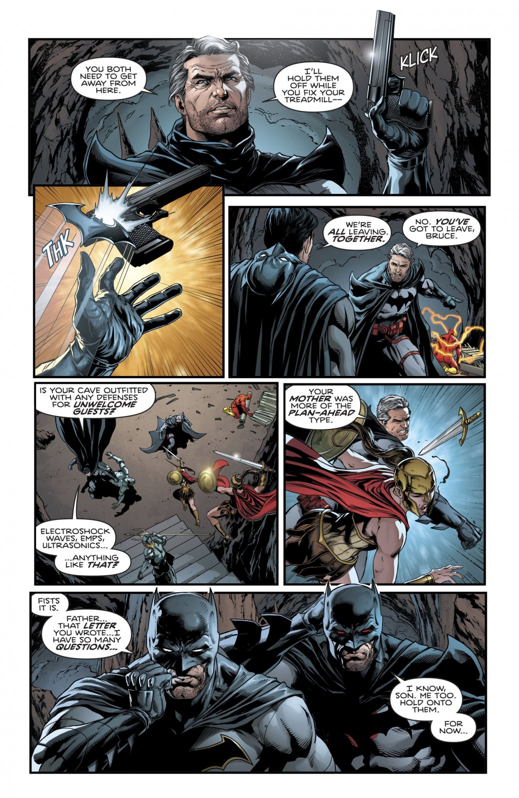 Куда привела Бэтмена и Флэша загадка значка Комедианта? - Изображение 17