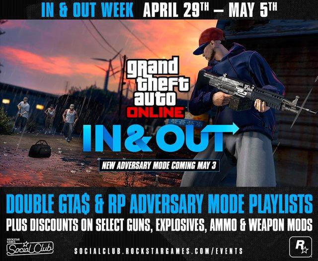 Rockstar анонсировала новый режим и неделю бонусов в GTA Online - Изображение 1