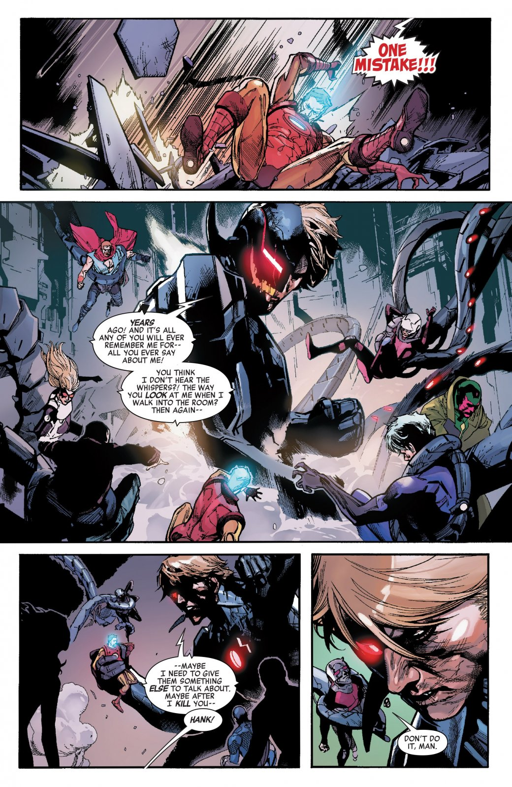 Secret Empire: противостоянию Стива Роджерса иТони Старка нет конца - Изображение 19