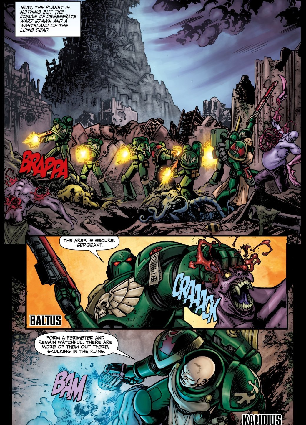 Самые крутые комиксы по Warhammer 40.000. - Изображение 18
