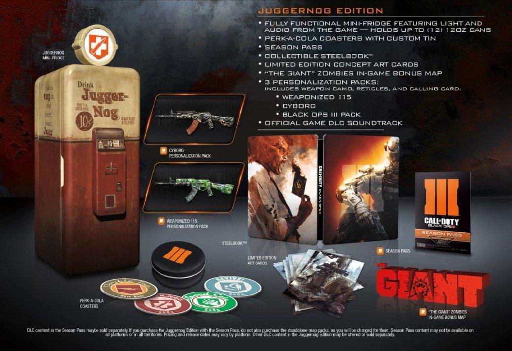 Black Ops 3: специальные издания и премьера Zombies - Изображение 1