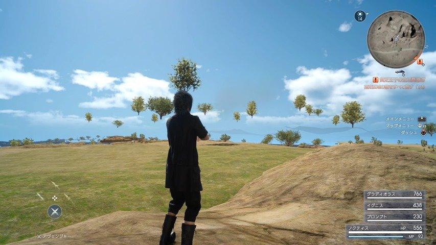 В новом демо Final Fantasy XV нашлись забавные баги - Изображение 1