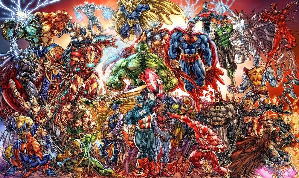 Как Marvel персонажей DC воровала (и наоборот). - Изображение 1