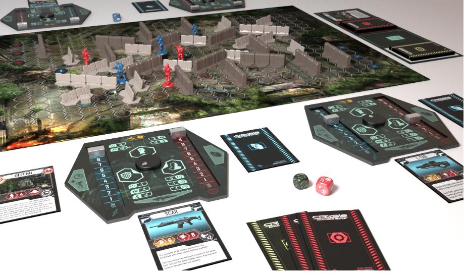 Настольная игра по Crysis собирает деньги на Kickstarter - Изображение 3