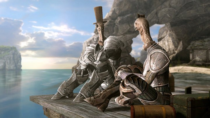 Героев Infinity Blade 3 нарядят в шлем индейки  - Изображение 1