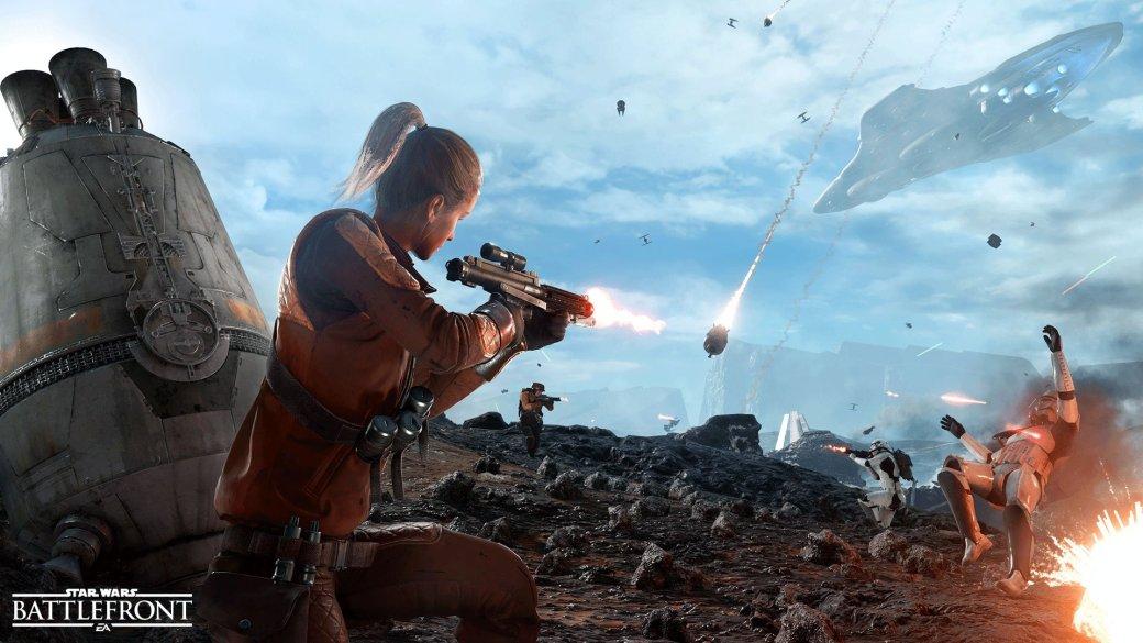 Разработчики Star Wars Battlefront рассказали о режиме Drop Zone - Изображение 1