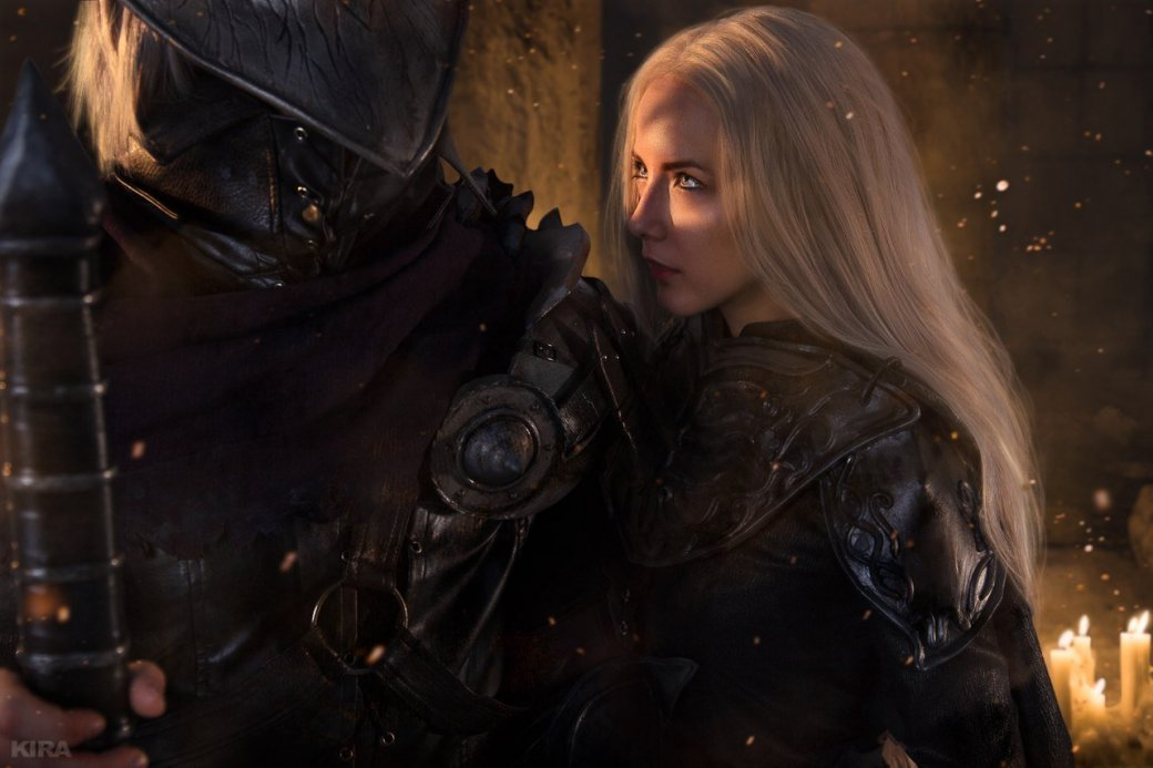 Косплей дня: Негорящий и Юрия из Лондора в Dark Souls 3. - Изображение 6