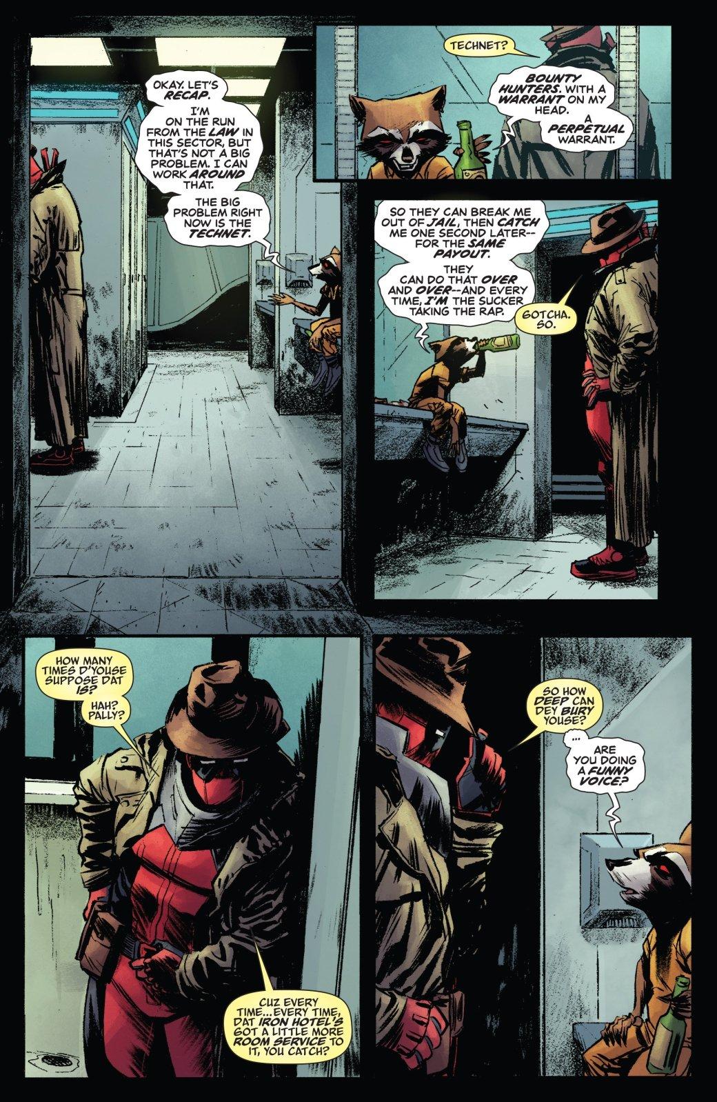 Дэдпул помог Ракете провернуть одно изсамых безумных ограблений. - Изображение 1