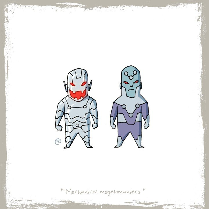 Как Marvel персонажей DC воровала (и наоборот). - Изображение 28