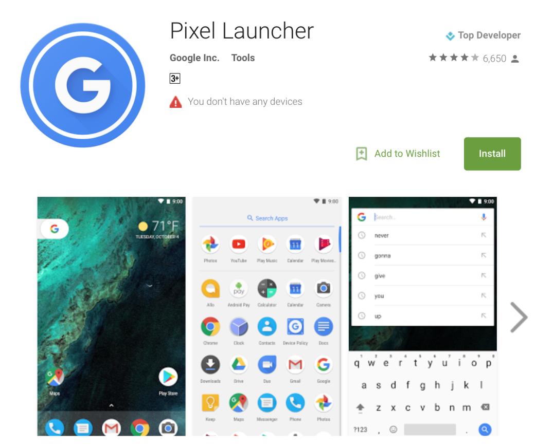 Google выпустил обновление андроид  Nougat 7.1.2 beta 2
