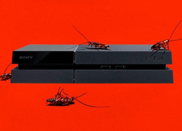 Тараканы предпочитают для жилья PS 4