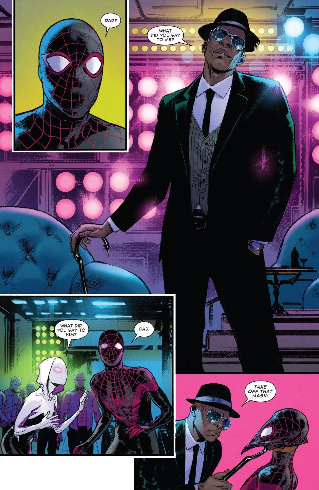 Финал кроссовера Человека-паука Майлза Моралеса и Гвен-паук - Изображение 2
