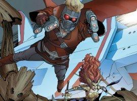 УMarvel вышло три новые серии: Звездный Лорд, Гамора, Капитан Марвел