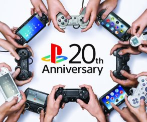 PlayStation исполнилось 20 лет