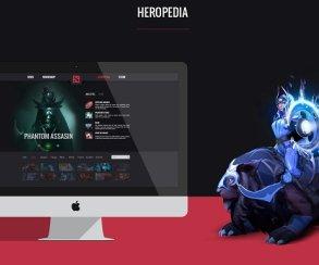 Фанатский концепт официального сайта Dota 2 выглядит свежо! Но нужен ли он Valve?
