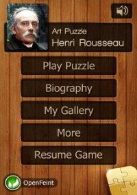 Henri Rousseau Jigsaw Puzzles – фото обложки игры