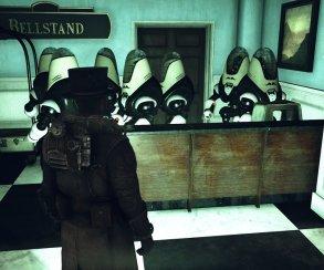 Из-за бага в Fallout 76 журналист PC Gamer столкнулся с армией роботов-садовников и дворецких