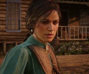 Гифка дня: слишком горячая женщина вRed Dead Redemption2