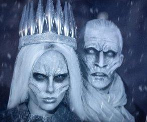 Косплей дня: Королева Ночи ибелый ходок из«Игры престолов»