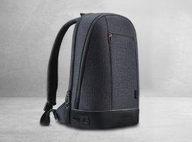Смарт-рюкзак Agazzi получил сканер отпечатков пальцев, внутреннюю и внешнюю подсветку