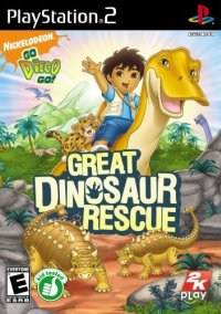 Go, Diego Go! Great Dinosaur Rescue – фото обложки игры