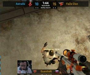 Идеальное убийство в CS:GO с подсадки в дым в исполнении FaZe